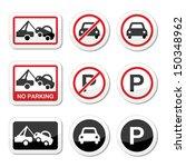 No Parking  Parking Forbidden...