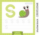 letter s uppercase cute... | Shutterstock .eps vector #1503510368