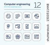 computer engineering line icon... | Shutterstock .eps vector #1503511448
