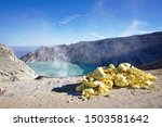 The Sulfuric Lake Of Kawah Ijen ...