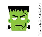 Halloween Frankenstein Vector...