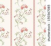 flower seamless pattern.... | Shutterstock .eps vector #150367085