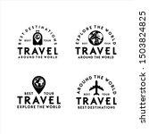 travel logo best tour set   Shutterstock .eps vector #1503824825