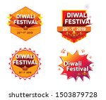 diwali festival offer discount... | Shutterstock .eps vector #1503879728