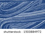 grunge texture. distress indigo ... | Shutterstock .eps vector #1503884972