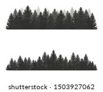 coniferous pine forest.... | Shutterstock .eps vector #1503927062