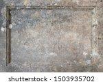 carved stone masonry frame...   Shutterstock . vector #1503935702