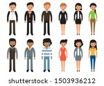 international young people... | Shutterstock .eps vector #1503936212