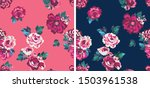 repeatable floral pattern... | Shutterstock .eps vector #1503961538