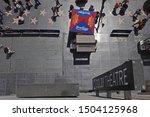 hollywood  ca   usa   aug. 18 ... | Shutterstock . vector #1504125968