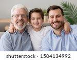 Happy Male Intergenerational 3...