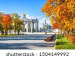 moscow russia   10.08.2018....   Shutterstock . vector #1504149992