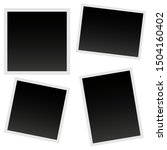 photo vector set icons isolated ... | Shutterstock .eps vector #1504160402