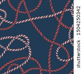 seamless marine rope knot...   Shutterstock .eps vector #1504250342