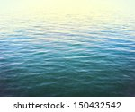 the calm surface of the pacific ... | Shutterstock . vector #150432542