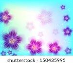 beautiful colorfull flower... | Shutterstock .eps vector #150435995