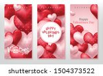 happy valentines day vertical...   Shutterstock .eps vector #1504373522