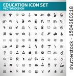 education and school vector...   Shutterstock .eps vector #1504380218