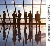 businesspeople in office... | Shutterstock . vector #150459452