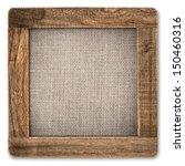 Vintage Rustic Wooden Frame...