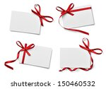 collection of various note card ... | Shutterstock . vector #150460532