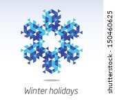 business greeting christmas and ... | Shutterstock .eps vector #150460625