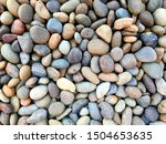 Colorful Stones Background Top...