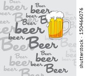 beer art page | Shutterstock .eps vector #150466076