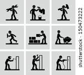 construction worker | Shutterstock .eps vector #150473222