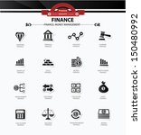 business and finance icons... | Shutterstock .eps vector #150480992