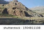view on wakhan corridor in... | Shutterstock . vector #1504811108