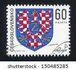 czechoslovakia   circa 1975 ... | Shutterstock . vector #150485285