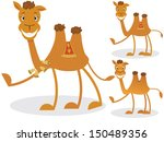 cartoon camel | Shutterstock .eps vector #150489356