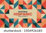 national hispanic heritage...   Shutterstock .eps vector #1504926185