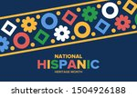 national hispanic heritage... | Shutterstock .eps vector #1504926188