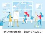 cartoon color characters people ...   Shutterstock .eps vector #1504971212
