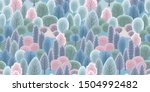 abstract seamless pattern with... | Shutterstock .eps vector #1504992482