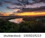 Sunrise Over The Cincinnati...