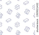 seamless pattern with math... | Shutterstock .eps vector #1505021432