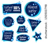 various water labels | Shutterstock . vector #150503798