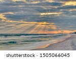 Dramatic Pastel Light Sunset...