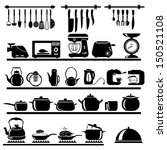 kitchen tool collection  ...   Shutterstock .eps vector #150521108
