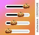 halloween slider with horror...