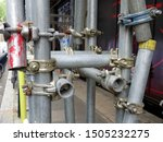 A Complex Series Of Pipes In...
