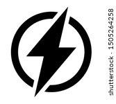 Power Icon  Lightning Power Icon