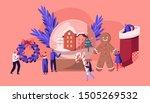 christmas holidays celebration... | Shutterstock .eps vector #1505269532