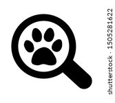 Stock vector cat search icon from pets vet and veterinary icons animal icons 1505281622