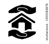 safe house icon   from property ... | Shutterstock .eps vector #1505283878