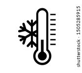 thermometer cold icon - From forecast, Climate and Meteorology icons, widget icons