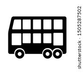 double decker bus icon   from... | Shutterstock .eps vector #1505287502